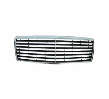 Front grill on a white background