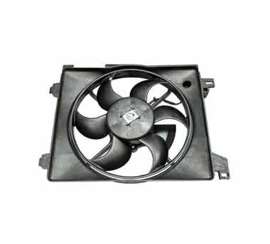 Condenser fan on a white background