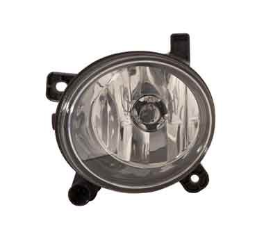 Fog lamp on a white background